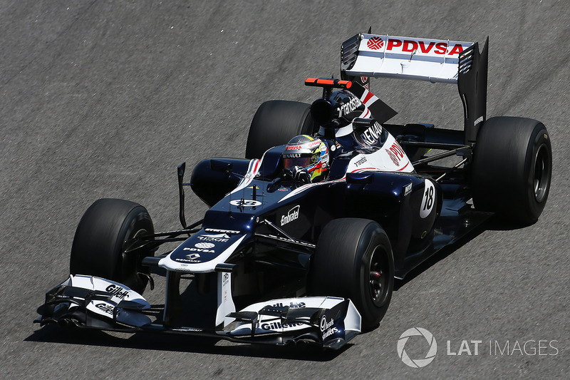 2012 : Williams-Renault FW34