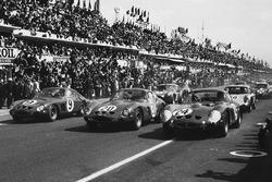 Start zu den 24h Le Mans 1963