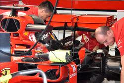 Le moteur de la Ferrari SF71H