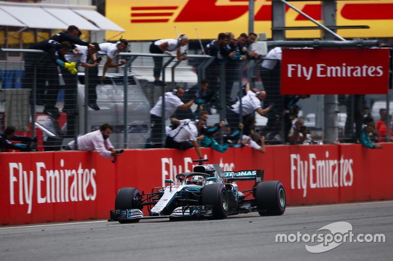 GP de Alemania: Lewis Hamilton