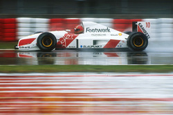 Alex Caffi, Footwork FA12 Porsche
