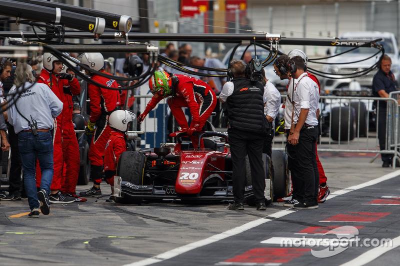 Louis Deletraz, Charouz Racing System, abandonne