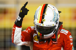 Sebastian Vettel, Ferrari, auteur de la pole position