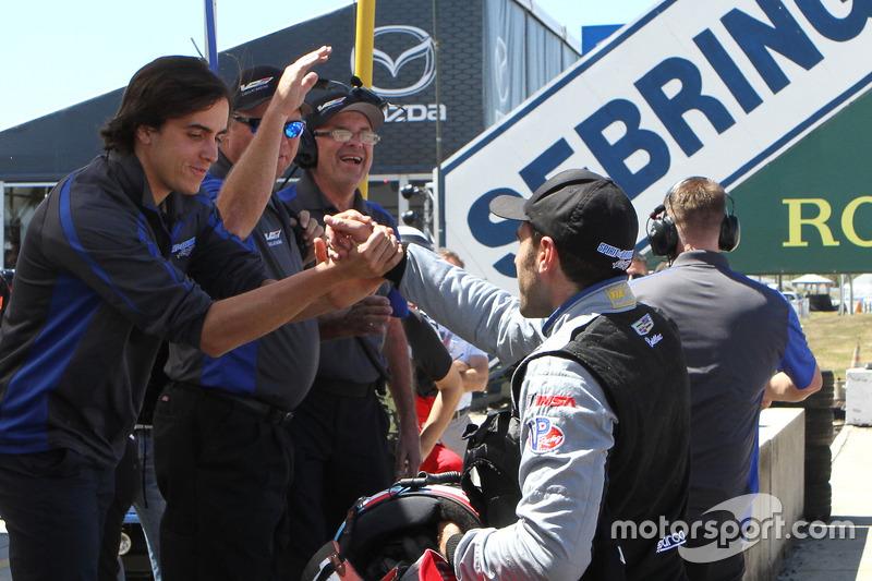 Ganador de la pole Tristan Vautier, Spirit of Daytona Racing
