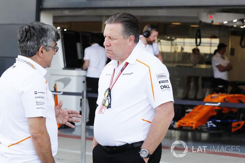 Zak Brown, Direttore Esecutivo, McLaren Technology Group