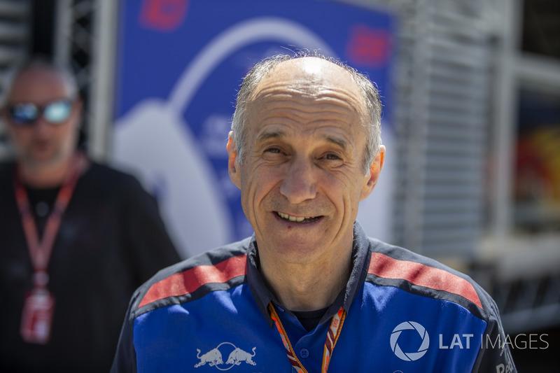 Franz Tost, directeur de Scuderia Toro Rosso