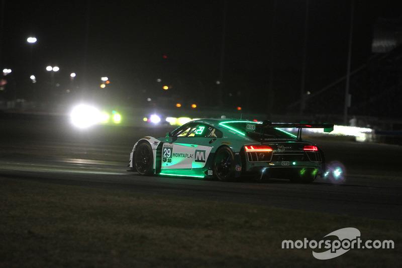#29 Montaplast by Land-Motorsport Audi R8 LMS GT3, GTD: Крістофер Міс, Шелдон ван дер Лінд, Джеффрі Шмідт, Келвін ван дер Лінд