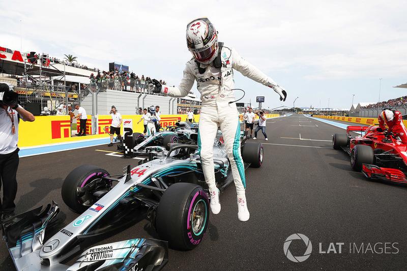 Pole pozisyonu galibi Lewis Hamilton, Mercedes AMG F1