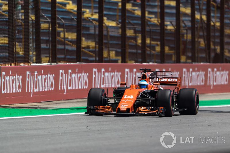 10. Fernando Alonso, McLaren MCL32