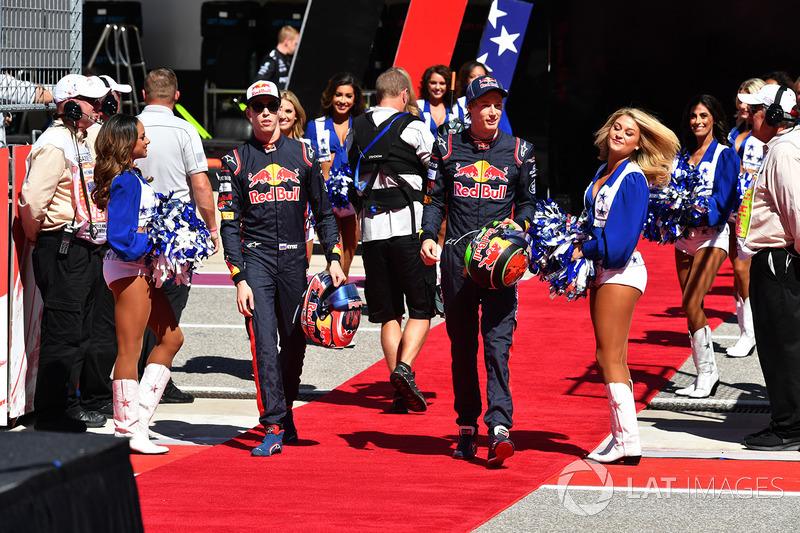 Daniil Kvyat, Scuderia Toro Rosso y Brendon Hartley, Scuderia Toro Rosso