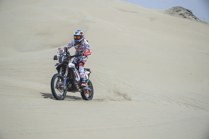 #49 Hero Motorsports Team Rally: CS Santosh