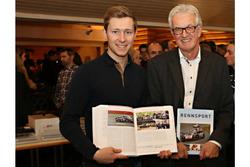 L'auteur Peter Wyss avec Philipp Frommenwiler