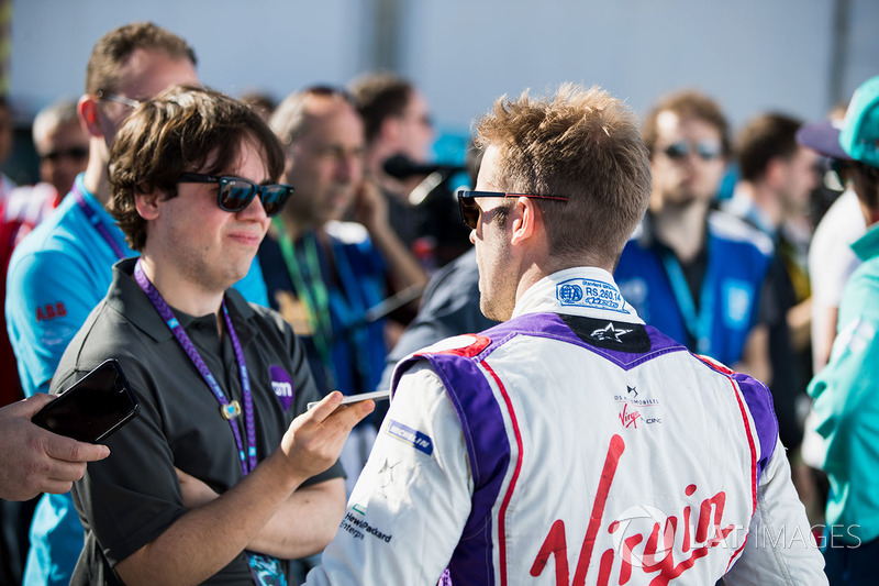 Sam Bird, DS Virgin Racing, in the press conference