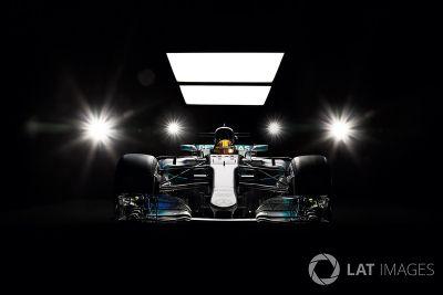 Neues Design am Mercedes F1 W08