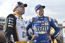Ryan Newman, Richard Childress Racing Chevrolet, Kyle Busch, Joe Gibbs Racing Toyota
