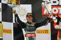 Il secondo classificato Jonathan Rea, Kawasaki Racing