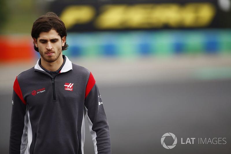 Антоніо Джовінацці, Ferrari, Haas F1 Team