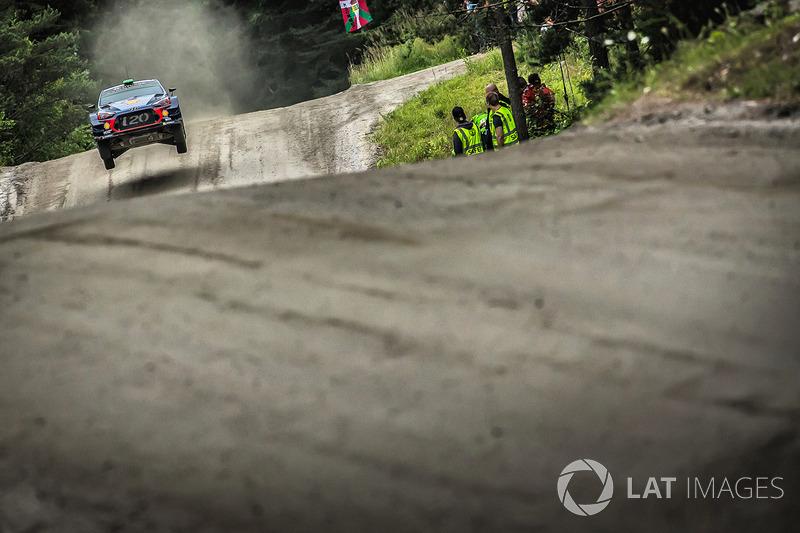 Хейден Паддон, Себастьян Маршалл, Hyundai i20 WRC, Hyundai Motorsport