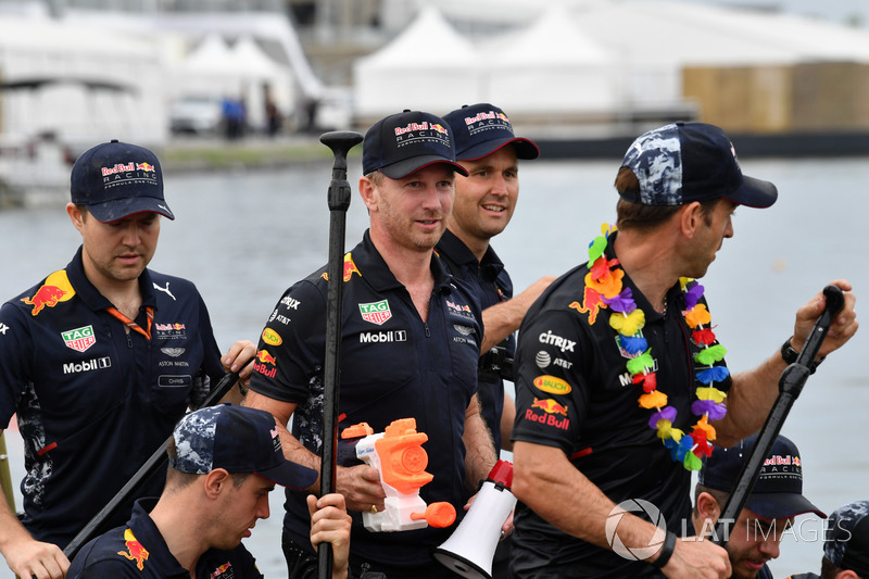 Floßrennen in Montreal: Red Bull Racing