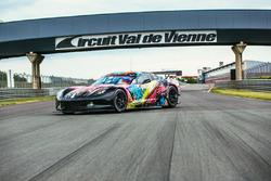 #50 Larbre Competition, Chevrolet Corvette C7.R im Sonderdesign