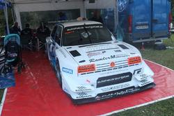 Karl Schagerl, VW Golf Rallye TFSI-R, MSC Mühlbach am Hochkönig, Paddock