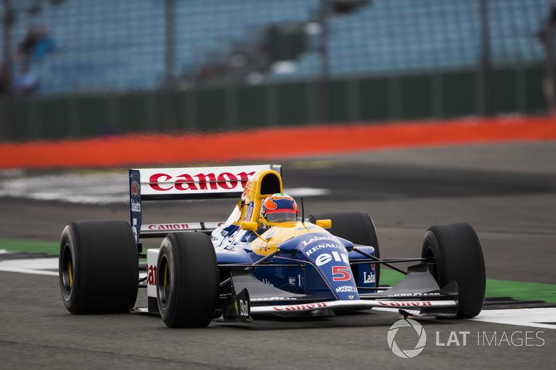 Карун Чандок Williams FW14B Renault