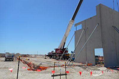 Bauarbeiten: Bend Motorsport Park