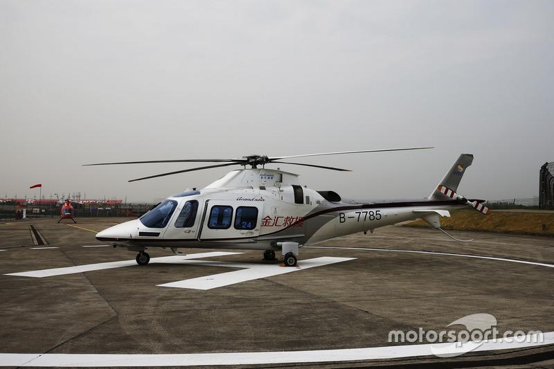 L'hélicoptère médical Augusta-Westland AW109SP