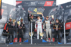 Podium Silver cup: Race winner #85 Mercedes-AMG Team HTP Motorsport, Mercedes-AMG GT3: Fabian Schiller, Jules Szymkowiak, second place #42 Strakka Racing, McLaren 650S GT3: Nick Leventis, Lewis Williamson, third place #24 Reiter Young Stars, Lamborghini Reiter Gallardo R-EX: Marko Helistekangas, Caitlin Wood