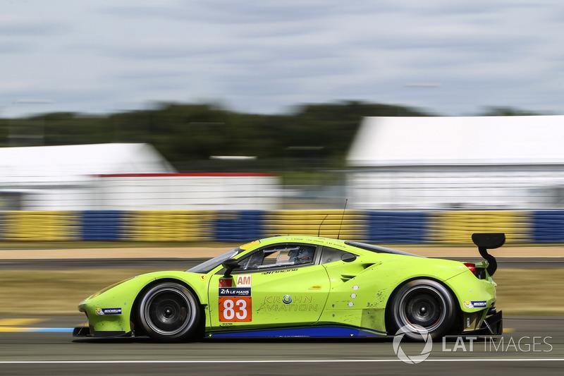 LMGTE-Am: #83 DH Racing, Ferrari 488 GTE