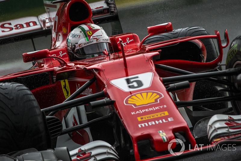 2. Себастьян Феттель, Ferrari SF70H - 235
