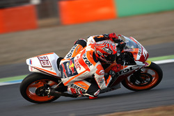 Marc Marquez racing in the CBR250 Dream Cup