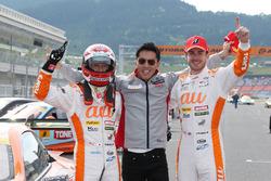 GT500 winners #36 Team Tom's Lexus LC500: Kazuki Nakajima, James Rossiter