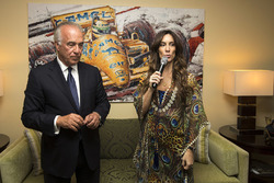 Bianca Senna, at the opening of the Ayrton Senna Suite at The Fairmont Hotel