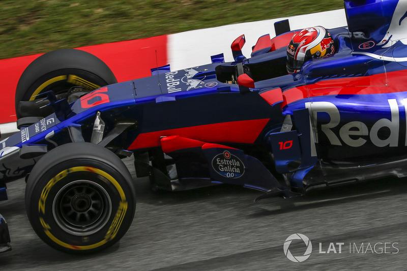 15. Pierre Gasly, Scuderia Toro Rosso STR12