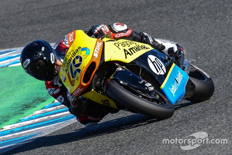 Fabio Quartararo, Paginas Amarillas HP 40
