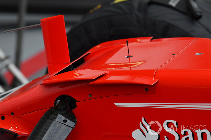 Ferrari SF70H nose detail