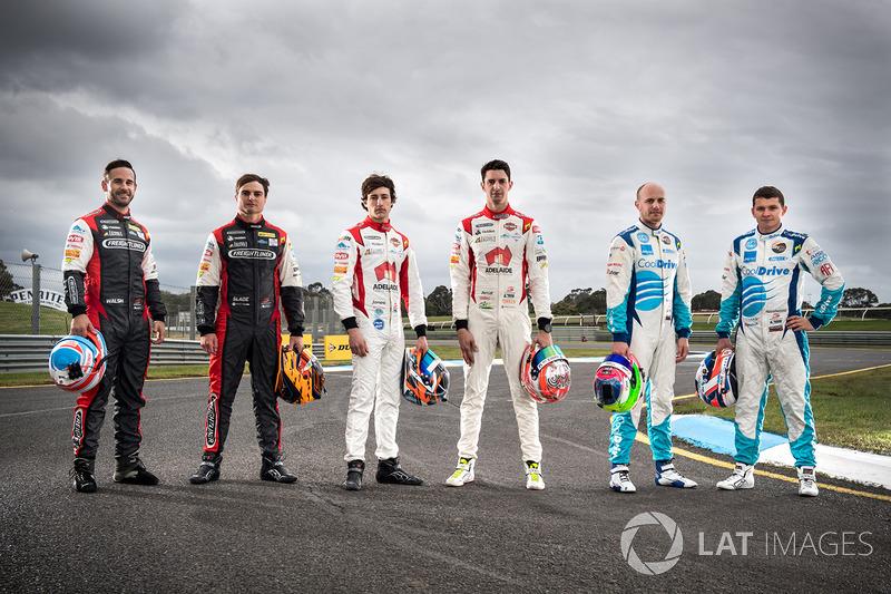 Ash Walsh, Brad Jones Racing Holden, Tim Slade, Brad Jones Racing Holden, Macauley Jones, Brad Jones