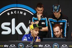 Valentino Rossi with Stefano Manzi, Sky Racing Team VR46