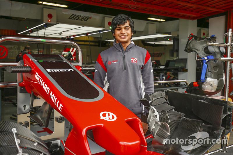 Arjun Maini, Development Driver, Haas F1 Team F1 Team