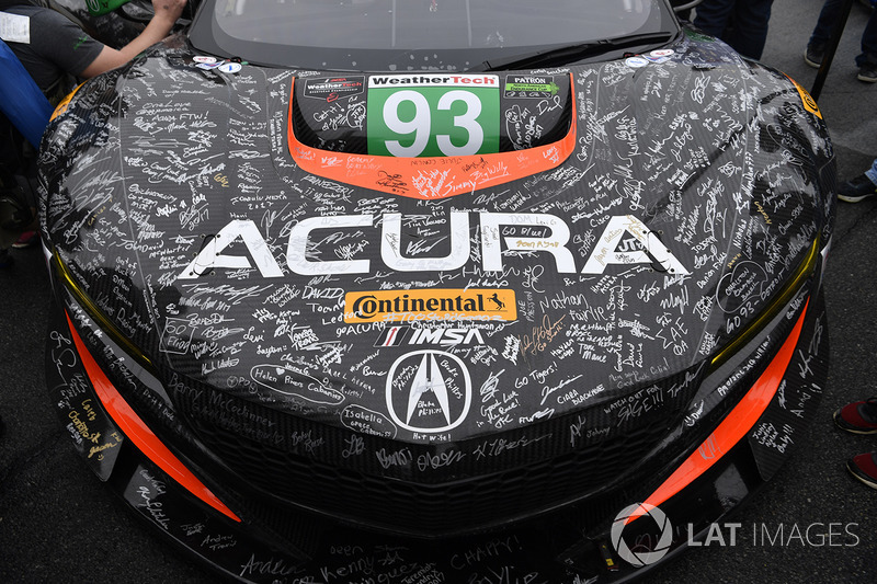 #93 Michael Shank Racing Acura NSX: Енді Лаллі, Кетрін Легг, Марк Уілкінс