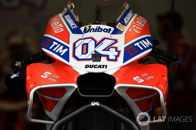 Обтічник на мотоциклі Ducati
