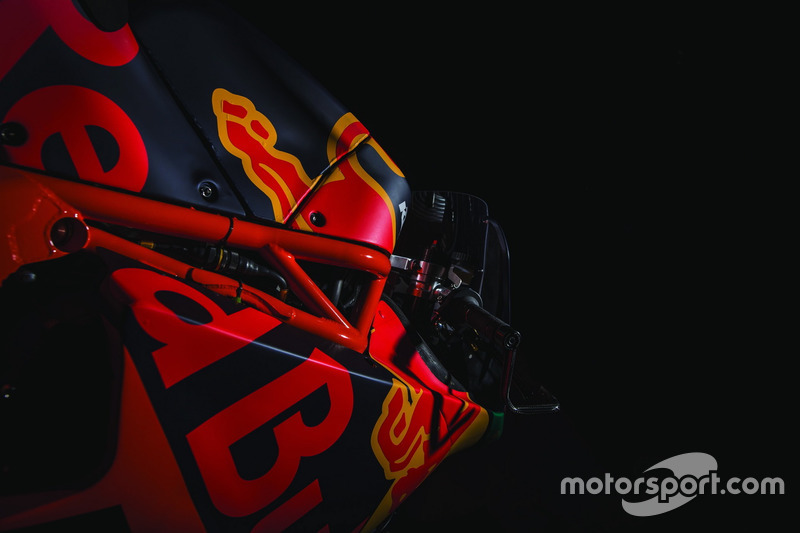 Bike von Red Bull KTM Ajo Team
