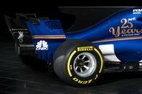 Sauber C36 rear wing detail