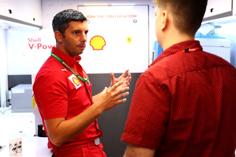 Guy Lovett, Shell Performance Technology Manager, met Motorsport.com journalist Filip Cleeren