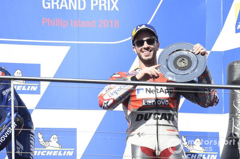 Podium ketiga, Andrea Dovizioso, Ducati Team