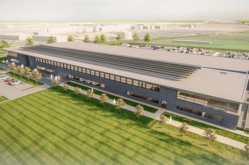 La nueva fábrica de Aston Martin