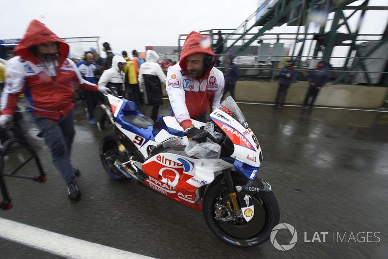 Danilo Petrucci, Pramac Racing, British MotoGP race 2018