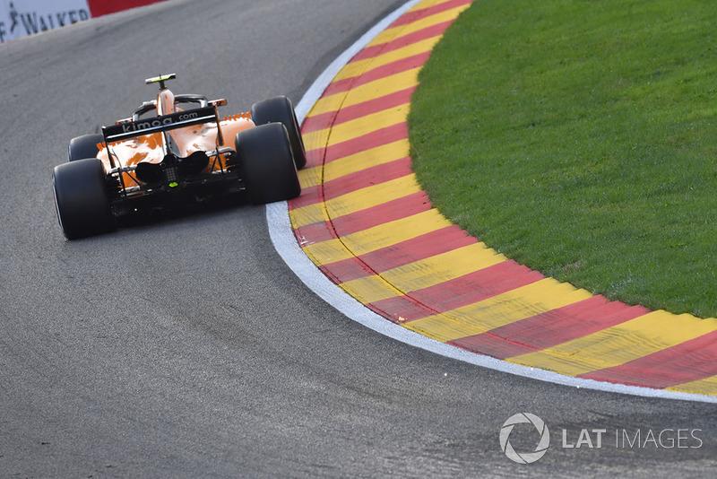 20. Stoffel Vandoorne, McLaren MCL33