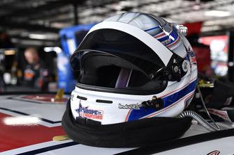 Brandon Jones, Joe Gibbs Racing, Toyota Camry Hope for the Warriors helmet